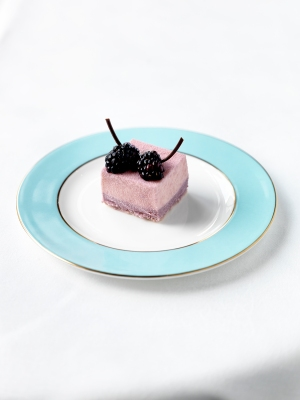 Jewellery Sour cream mousse, blackberry cremoux Inspired by Long Round Sculptural Neckpiece by Angela OÔÇÖKelly